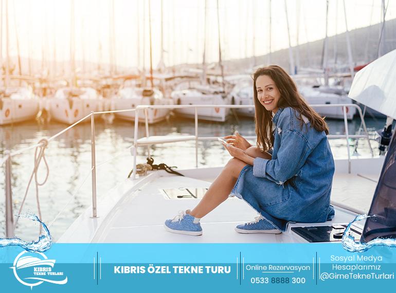 kıbrıs özel tekne turu